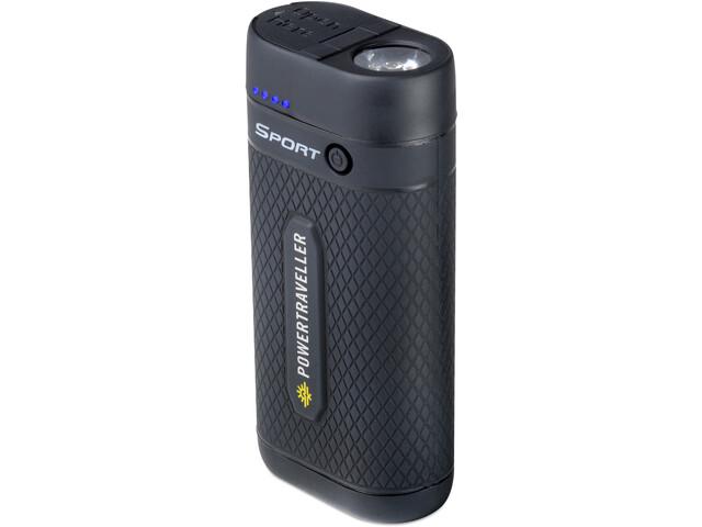 Powertraveller Sport 25 Powerbank con luce flash